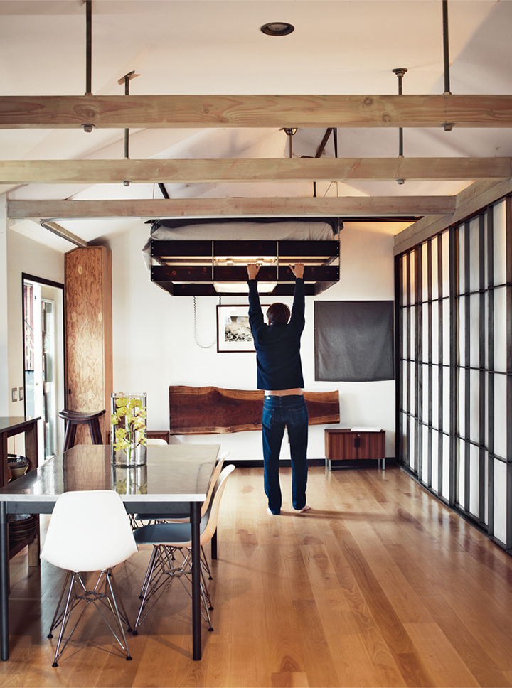 Look What A Great Idea I Found Today Browsing Through The Pictures Of Vincent Kartheiser S Hollywood Cabin On Dwell There Designer Finn Roberts