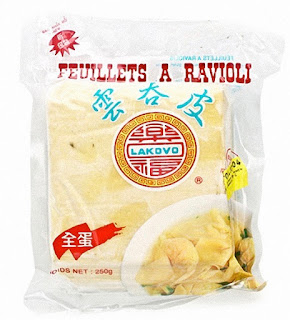 FEUILLES DE RAVIOLIS CHINOIS