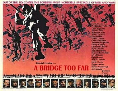 A Bridge Too Far film poster, landscape format