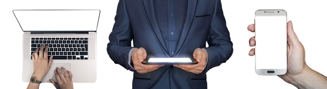 Laptop Tablet Smartphone Hand Write Internet