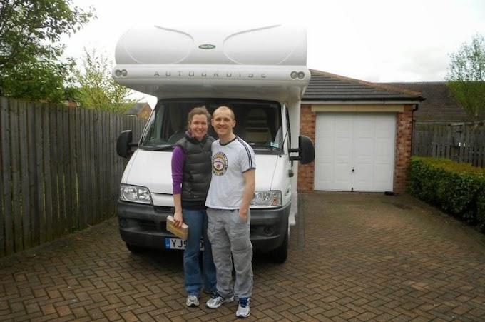 Internacional:  O casal que largou tudo para viver na estrada