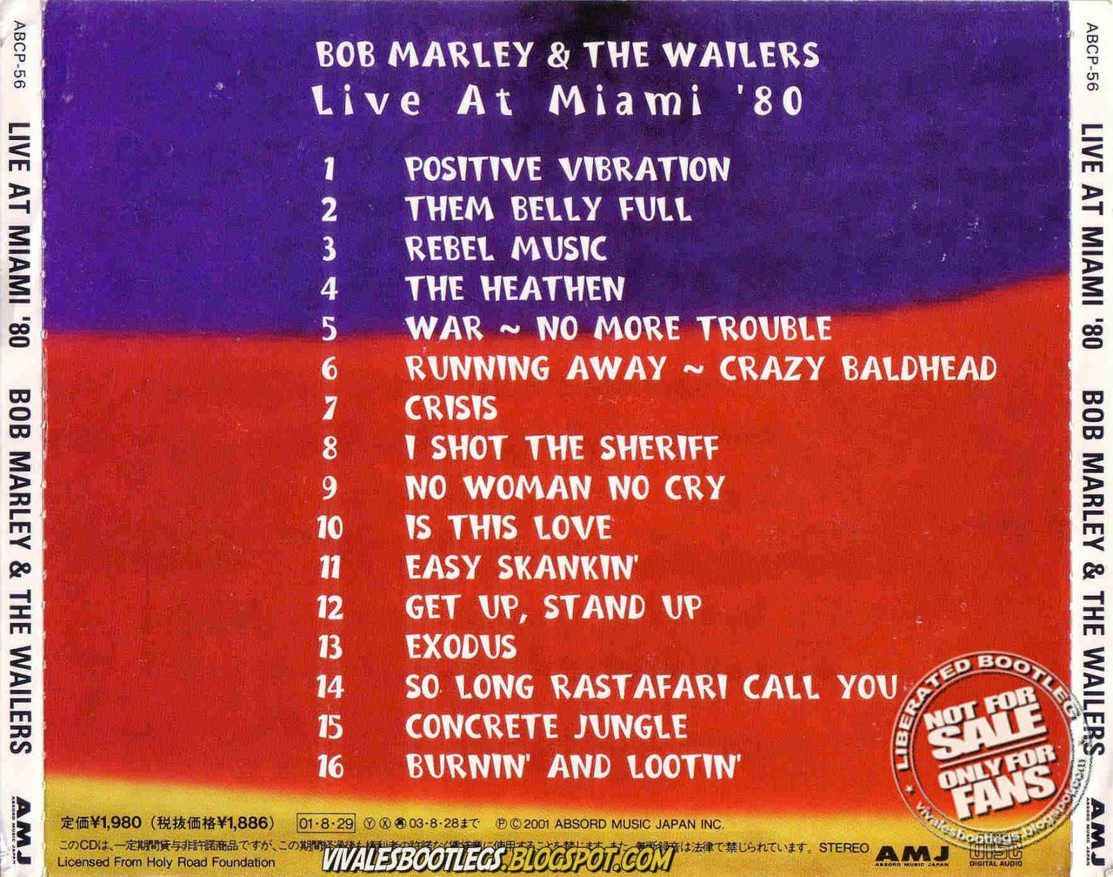 Bob marley lossless