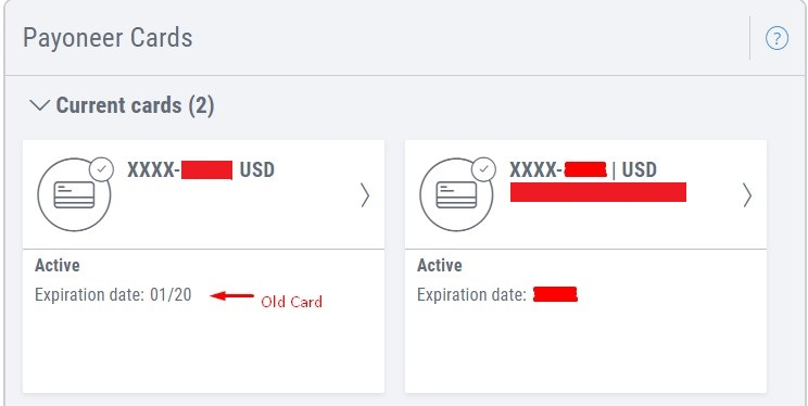 new Payoneer Prepaid MasterCard