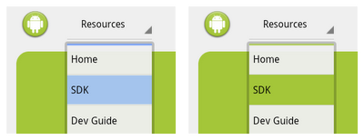 Android Developers Blog: Customizing the Action Bar
