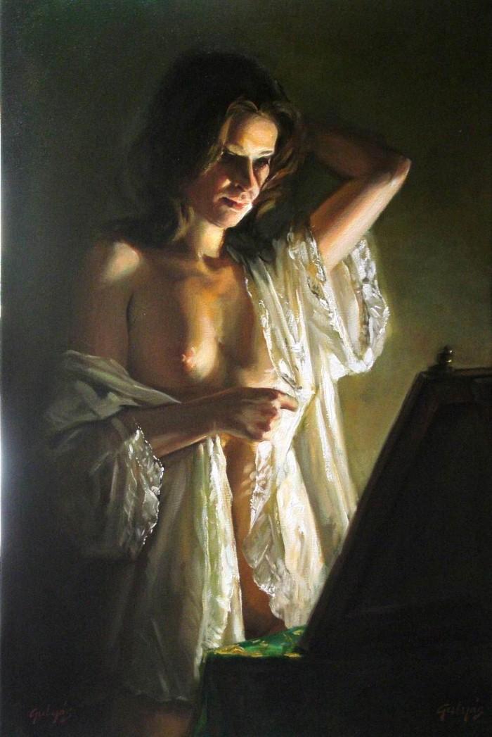 Laszlo Gulyas. Современный венгерский художник 5