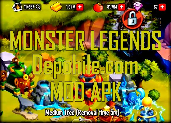 Monster Legends 9.2.10 Mod Sınırsız Yemek ve Altın Hileli Apk