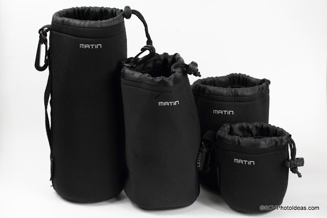 Matin Neoprene Lens Pouch Set of 4