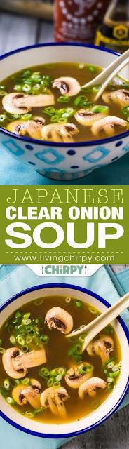 Japanese Clear Oníon Soup