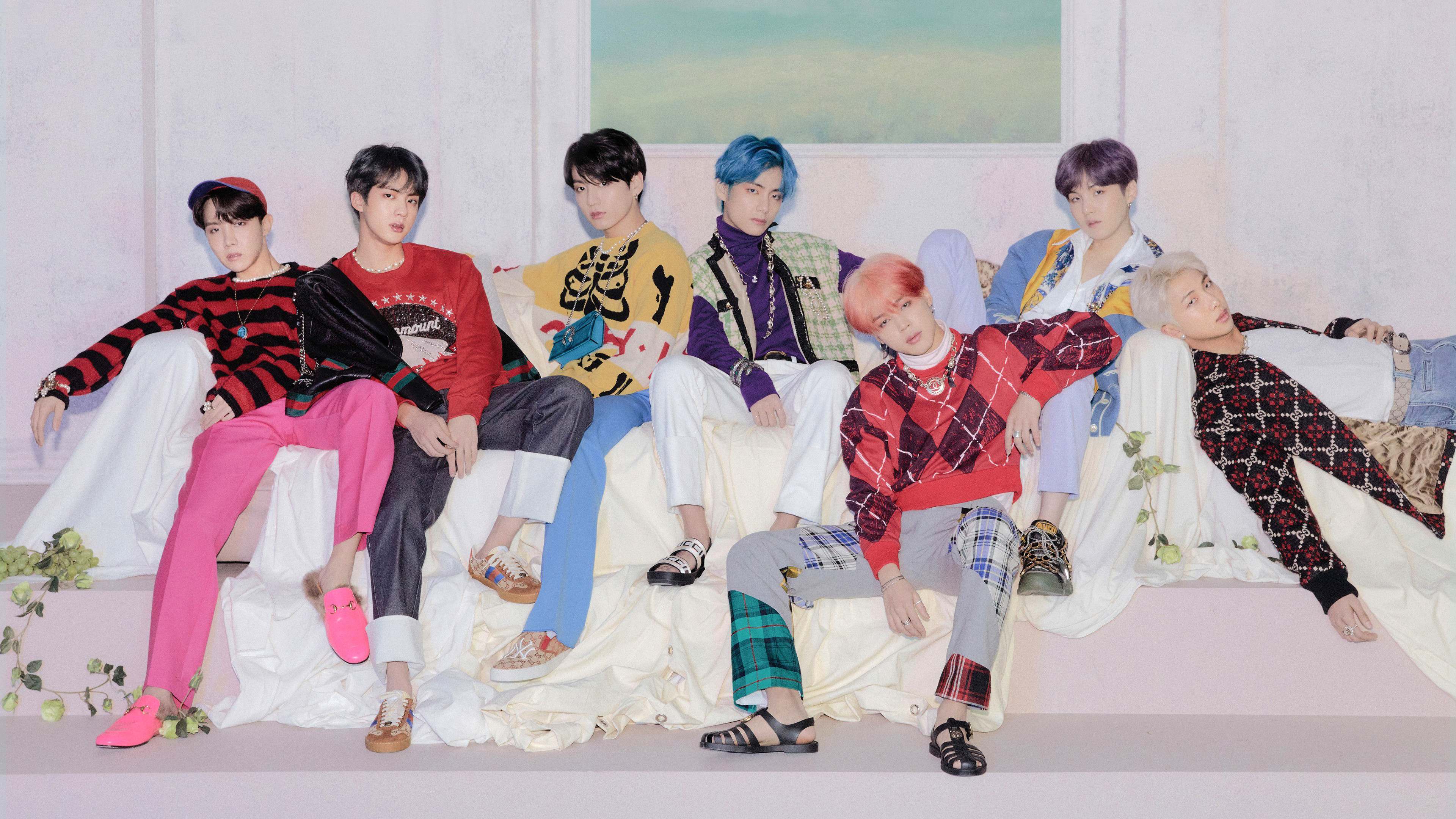 BTS, Map Of The Soul: Persona, Members, 4K, #17 Wallpaper