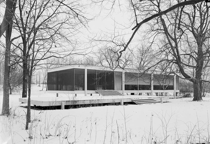 Ne Plus Tabula Rasa Farnsworth House