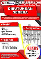 Open Recruitment at NGC Group Sampangan Surabaya Juli 2020
