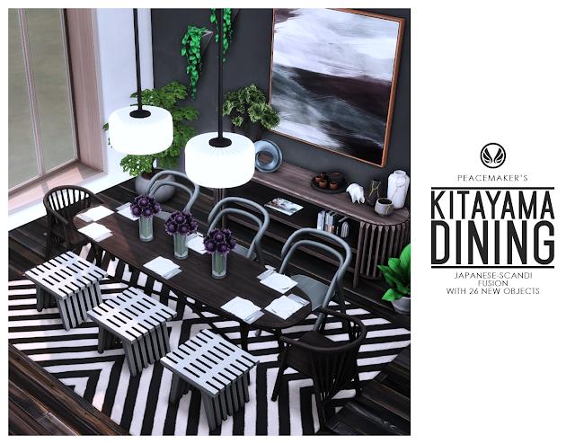 Kitayama Dining - Japanese-Scandi Fusion with 26 New Objects