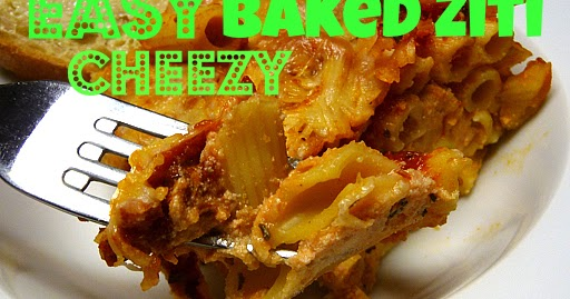 Posed Perfection Easy Cheezy Baked Ziti