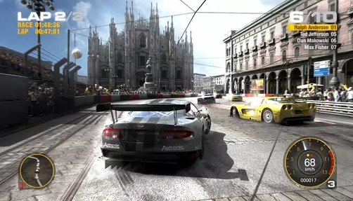 Race Driver GRID Game Ringan