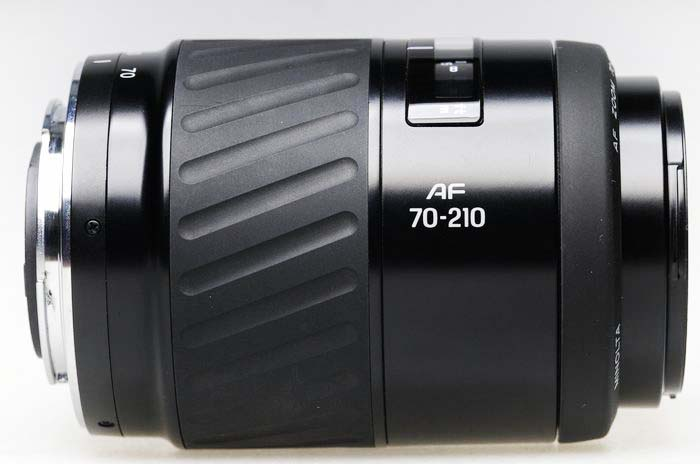 Lens minolta 70-210