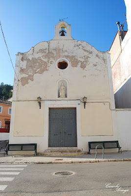 Ermita de San José, edificada donde anteriormente existo una mezquita