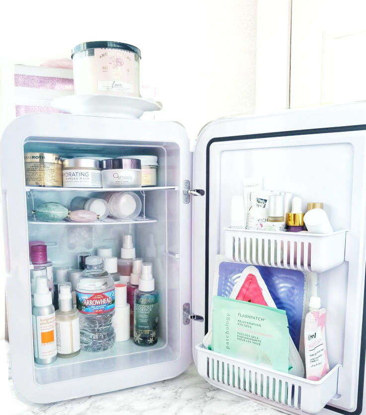 A Skin Care Fridge | Bougie or Beneficial? Interior 1