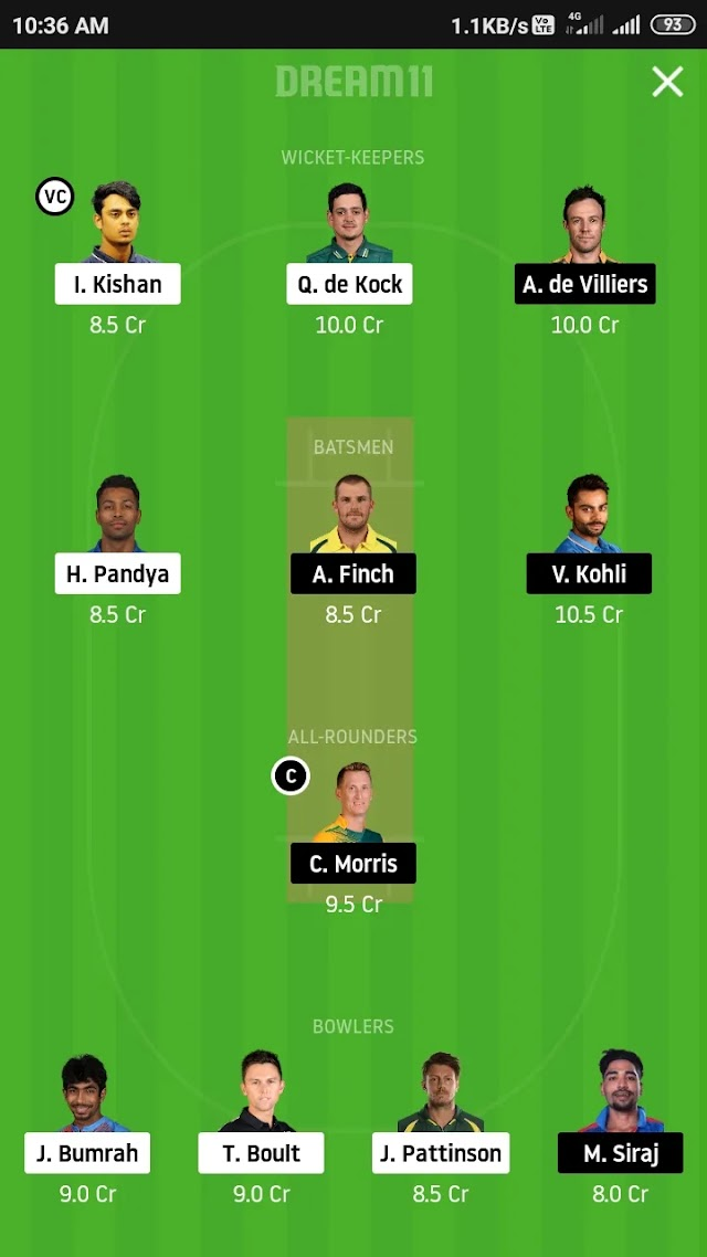 RR vs RCB, Match 48 fantasy 11 prediction and tips