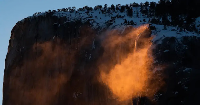 Yosemite Firefall, California