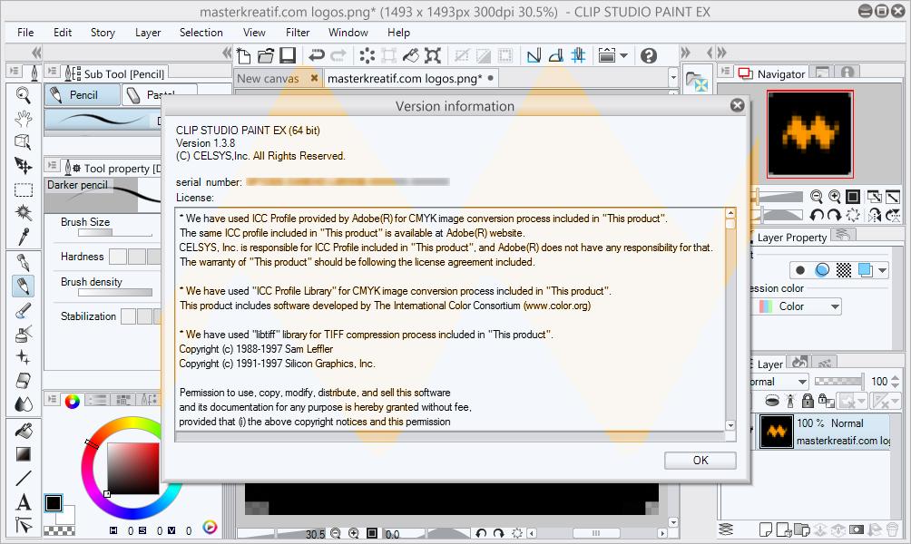Clip Studio Paint 1.3.8