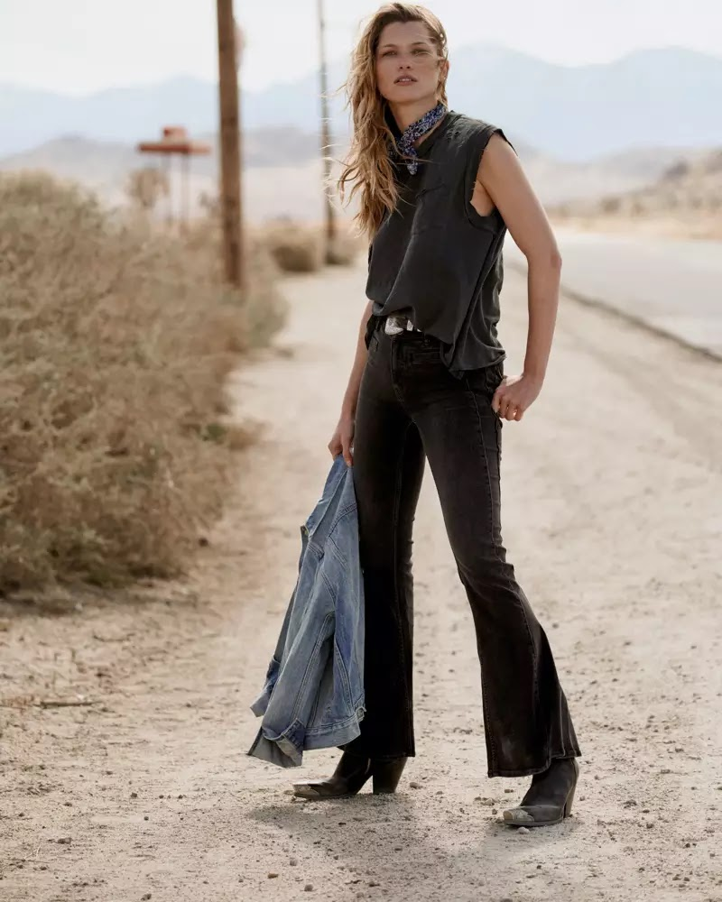 Free People Denim Spring 2020 Lookbook by Graham Dunn