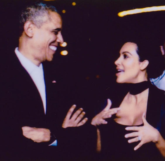 Kim Kardashian shares throwback pics with Obama as she bids ex-president goodbye