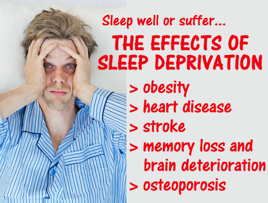 the negative effects of sleep deprivation in human beings Psychologists find that human beings have a fundamental need for emotional well-being despite the negative effects of and efficiency of sleep.