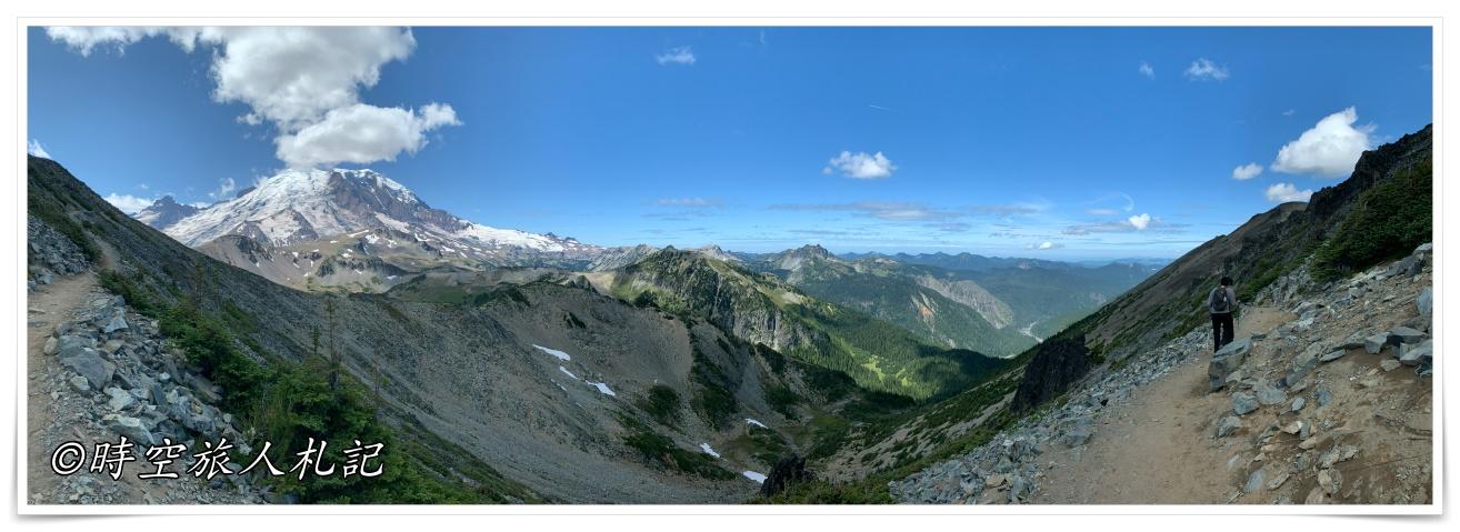 雷尼爾山國家公園Mt Rainier National Park 3日遊 Day 1: Sunrise Area