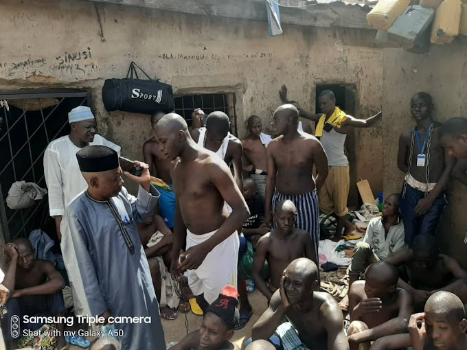 Police Discover Torture Centre With 300 Inmates In Buhari's Village