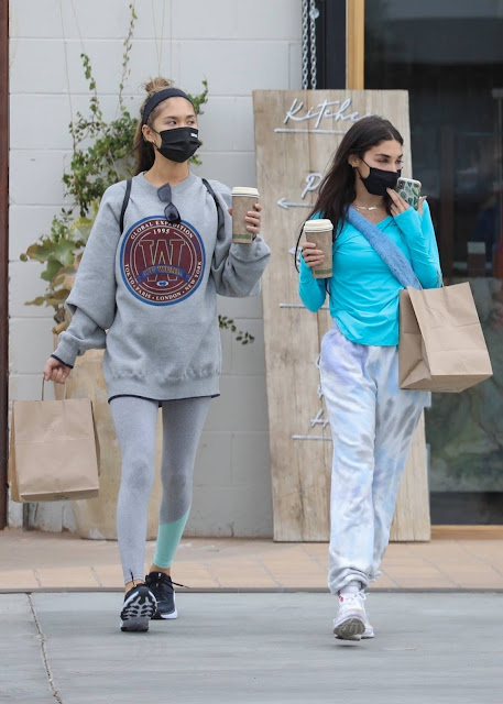Chantel Jeffries – Seen with a friend in West Hollywood