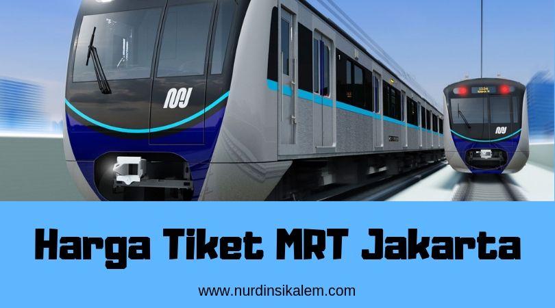 Tarif MRT Jakarta