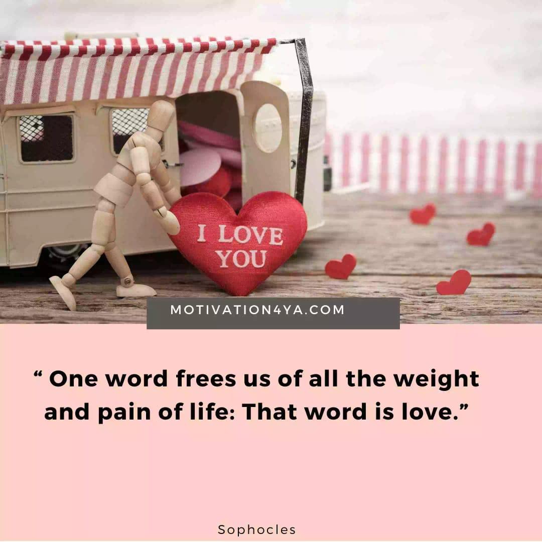 Quotes describing love beautifully