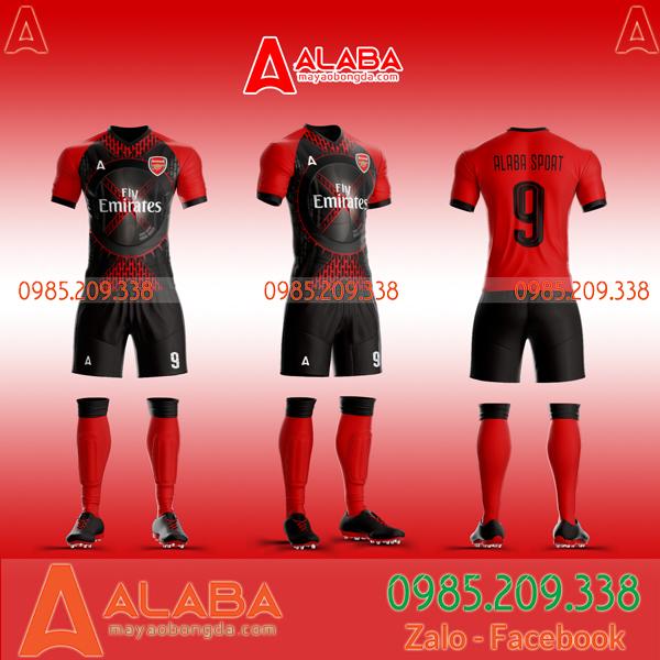 Áo bóng đá clb Arsenal 2020 màu đỏ mã ALB AR06