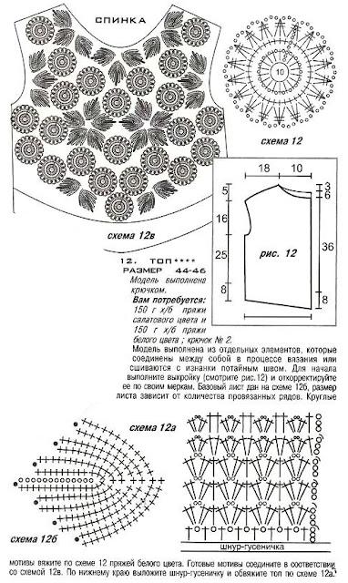 журнала МОД № 1 (507) схема