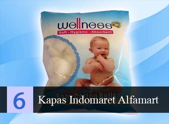 Kapas organik Bayi Indomaret Alfamart