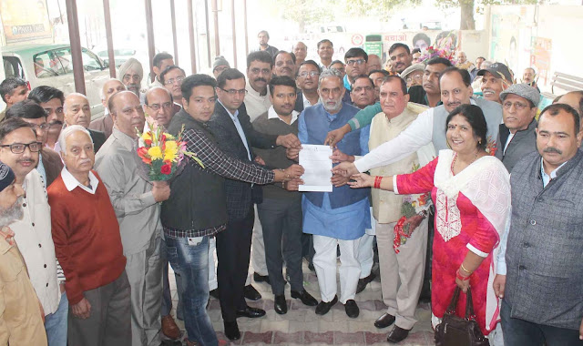 Gujjar thanked the Minister for imparting Indraprastha Colony under the Municipal Corporation of Faridabad.