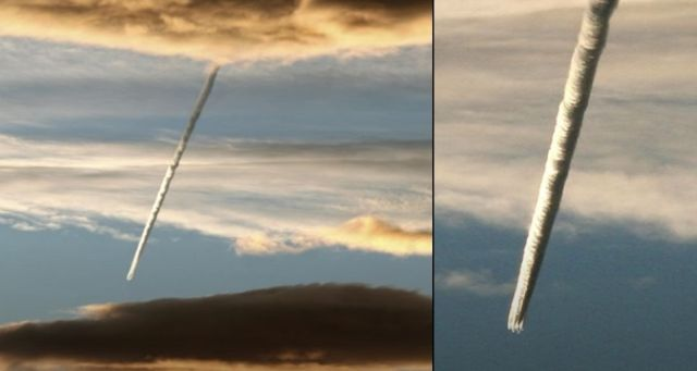 More Strange Slow Moving Flaming Objects Fall From The Skies  Mysterious-flaming%2Bobjects-skies%2B5