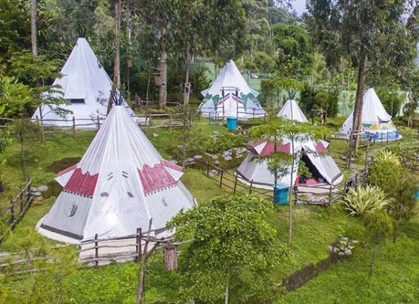 Ciwidey Valley Resort Yang Sangat Indah