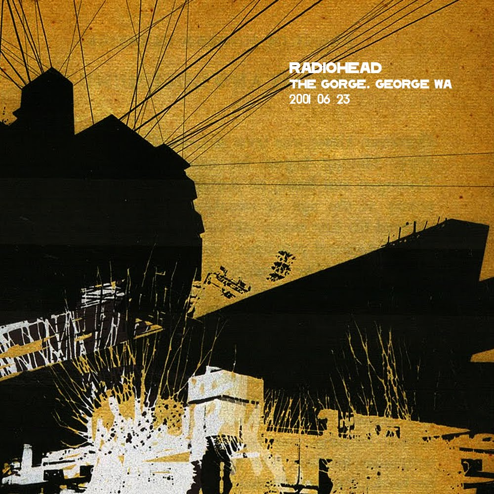 Radiohead - 2001-06-23 The Gorge Amphitheatre mp3@320 MG