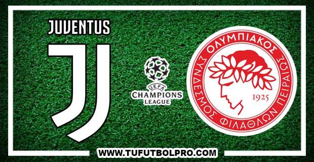 Ver Juventus vs Olympiacos EN VIVO Por Internet Hoy 27 de Septiembre 2017
