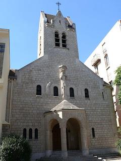 Eglise Notre-Dame des Otages par Peter Potrowl