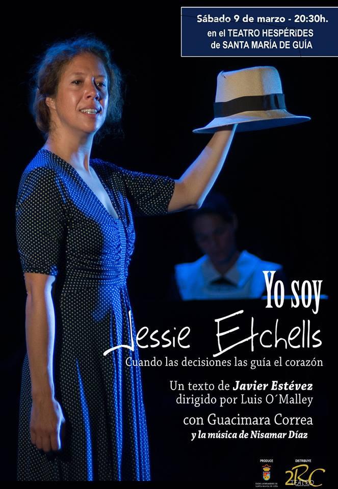 """""""YO SOY JESSIE ETCHELLS"""", del autor guiense Javier Estévez"""
