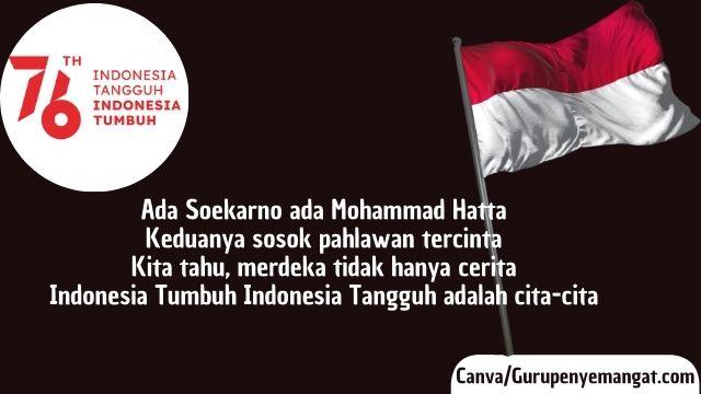 Pantun Kemerdekaan Indonesia Ke-76