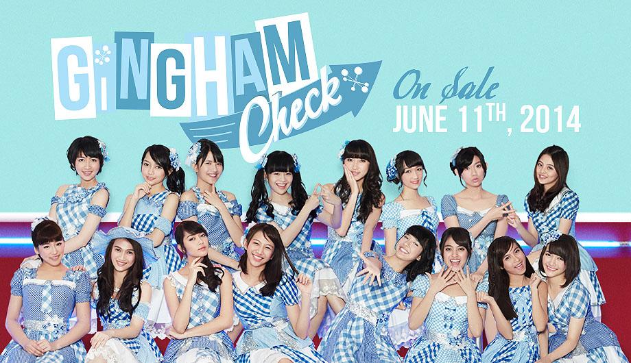 6th Single JKT48 Gingham Check