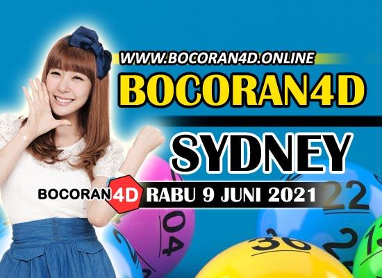 Bocoran Togel 4D Sydney 9 Juni 2021