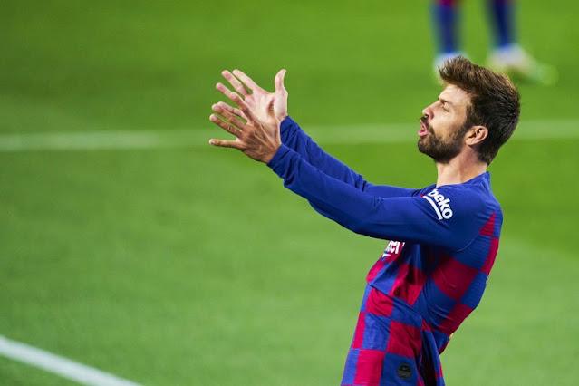 FOOTBALL - Barça: Lower wages, Gerard Piqué warns management