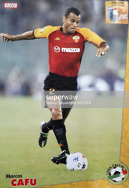 POSTER MARCOS CAFU (AS ROMA)