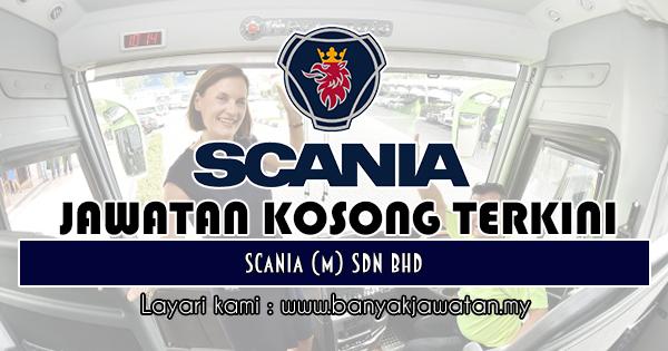 Jawatan Kosong 2019 di Scania (M) Sdn Bhd