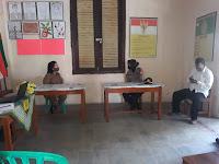 Polsek Mergangsan Patroli ke Sejumlah Sekolah Pantau Pelaksanaan PTM
