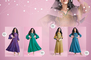 Channel 9 Priyosha Reyon Long kurtis Collection
